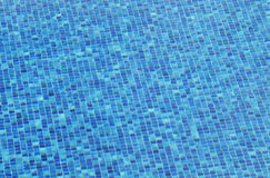 Blue swimming pool Stock Photos