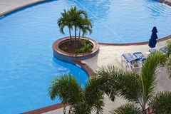Blue Swimming Pool Royalty Free Stock Images