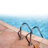 Blue swimming pool Royalty Free Stock Photos