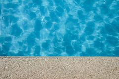 Blue swimming pool Stock Image