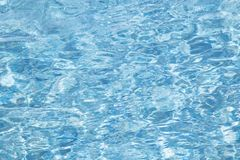 Blue swimming pool Stock Photo