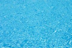 Blue swimming pool water Royalty Free Stock Image