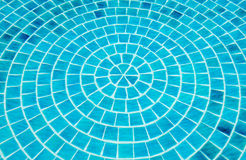 Blue swimming pool water Stock Photography