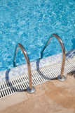 Blue Swimmingpool Royalty Free Stock Photo