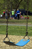 Blue swing. Stock Photography