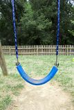 Blue Swing Royalty Free Stock Image