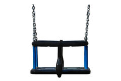 Blue swing Stock Images