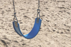 Blue Swing Royalty Free Stock Images