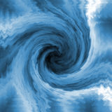 Blue swirl Royalty Free Stock Photos