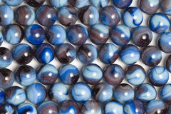 Blue Swirl Marbles Stock Photos