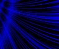 Blue Swirls Design. Design wave swirls abstract in a deep midnight blue background Stock Image