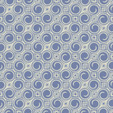 Blue swirls and rhombus Royalty Free Stock Photos