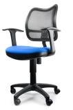 Blue swivel chair Royalty Free Stock Photos