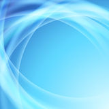 Blue swoosh glow electric lines background Stock Photo