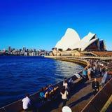 Blue Sydney. Them of blue Royalty Free Stock Photography