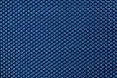Blue symmetrical synthetic fiber Stock Photo