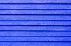Blue synthetic wood texture Stock Photo