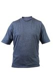 Blue T-shirt. Front. Royalty Free Stock Photography