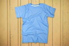 Blue T-Shirt Stock Images