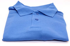 Blue t shirt Royalty Free Stock Images