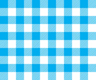 Blue tablecloth background seamless pattern Stock Photography