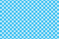 Blue tablecloth diagonal background seamless pattern Stock Images