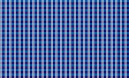 Blue tablecloth gingham checkered background.Texture for :plaid, tablecloths, clothes, shirts, dresses, paper, bedding, blankets. Eps-10 Vector Illustration vector illustration