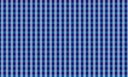 Blue tablecloth gingham checkered background.Texture for :plaid, tablecloths, clothes, shirts, dresses, paper, bedding, blankets. Eps-10 Vector Illustration stock illustration