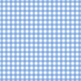 Blue tablecloth pattern Stock Image