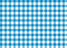 Blue Tablecloth Print Royalty Free Stock Image