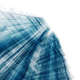 Blue tall building Royalty Free Stock Image