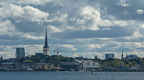 Blue Tallinn..... Royalty Free Stock Photos