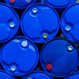 Blue tanks Stock Photo