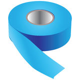 Blue tape for painting Stock Image