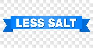 Blue Tape with LESS SALT Title stock illustration