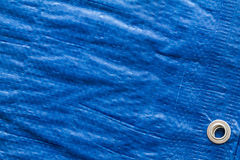 Blue tarp Royalty Free Stock Photo