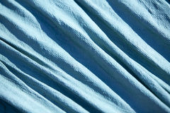 Blue Tarp Texture Royalty Free Stock Images