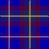 Blue Tartan Fabric. Illustration - Detail of Blue Tartan Fabric Texture / Vector royalty free illustration