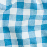 Blue tartan fabric striped. Texture Royalty Free Stock Photos