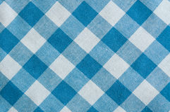 Blue tartan fabric striped. Texture Stock Photos
