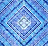 Blue tartan Stock Images