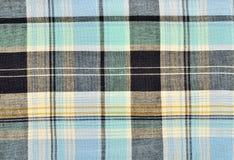 Blue tartan pattern. Stock Image