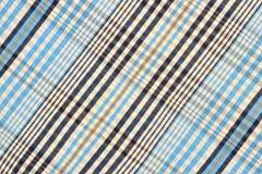 Blue tartan pattern. Stock Photo