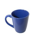 Blue teacup. A blue ceramic teacup isolated over white Royalty Free Stock Photography