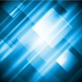 Blue tech abstract design Royalty Free Stock Photos