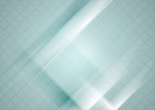 Free Blue Tech Geometric Background With Squares Texture Stock Image - 91302141