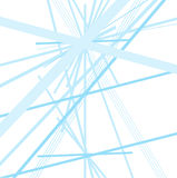 Blue tech lines background vector design on white Stock Image