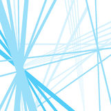 Blue tech lines background vector design on white Royalty Free Stock Image
