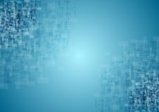 Blue tech squares texture background Royalty Free Stock Photo