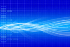 Blue technical background Stock Photos